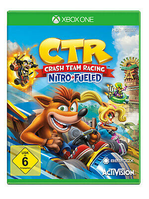 CTR Crash Team Racing Nitro Fueled [Xbox One]