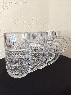 Action Industries  Crystal Mugs Set Of Four