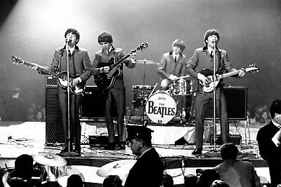 The Beatles Live 24x36 inch rolled wall poster