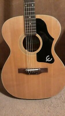 1970'S EPIPHONE FT-135 Acoustic Guitar Made in Japan 6