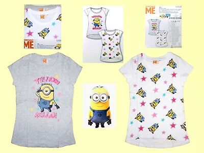 Despicable Me Minion Childrens Shirt Girl T.-shirts Je 2 Piece 116