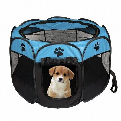 Portable Folding Pet tent Dog House Cage Dog Cat Tent Playpen Puppy Kennel  D1Y1