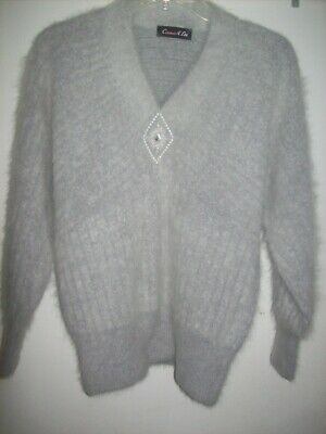 882bd236 Connie A. Lee Vintage Fuzzy Angora Pullover Sweater (Excellent Condition)  Medium