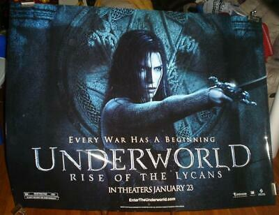 UNDERWORLD RISE OF THE LYCANS 5FT SUBWAY MOVIE POSTER 2009 Underworld 3