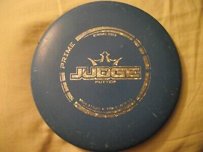 Dynamic Discs Prime Blue Disc Golf Putter-- 174g