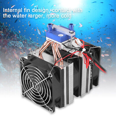 Thermoelectric Cooler Semiconductor Refrigeration Water Chiller Cooling Device G