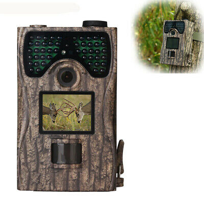 12MP 1080P Trail Camera PIR LED Night Vision Infrared Scouting Hunting Wildlife