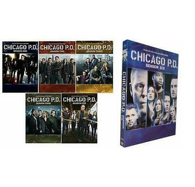 Chicago P.D. The Complete Series Season 1-5+6 DVD 1 2 3 4 5 US Seller New&Sealed