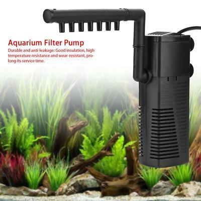 Fish Tank Aquarium Filter Internal Purifier Submersible Pump Spray Water