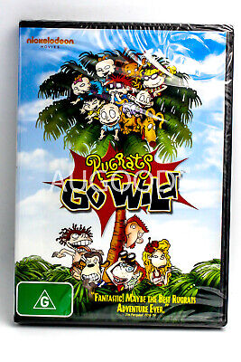 Rugrats Go Wilds -Kids & Family Region 4 Rare- Aus Stock DVD NEW