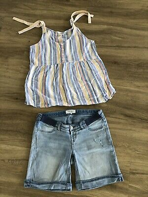 Just Jeans Maternity Top & Shorts 10