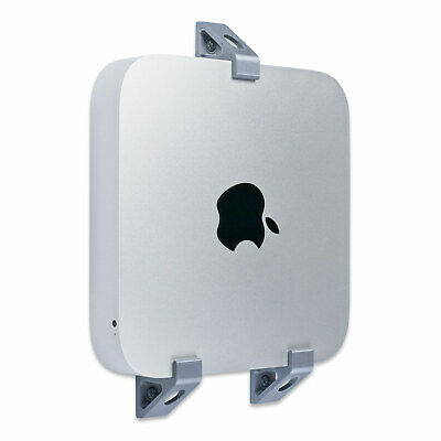 Wall Mount Bracket for Mac Mini A1347 A1997 The Best Mount for Mac Mini - Silver