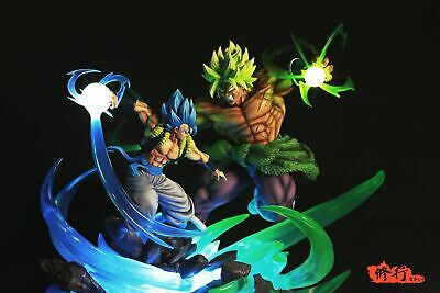 Master Grade Dragonball Broly VS Gogeta With LED Limited Resin Statue TOYS CA