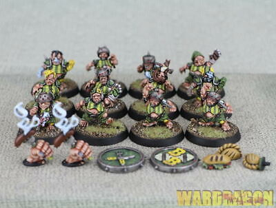 32mm Blood Bowl WDS painted WDS painted The Greenfield Grasshuggers i23