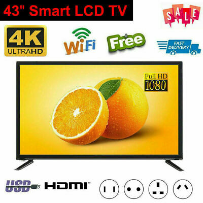 """BCL-32A 43"""" 4K 1080P HD Smart LED TV Wifi Network Television Freeview USB HDMI"""