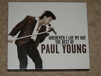 PAUL YOUNG WHEREVER I LAY MY HAT THE BEST OF GREATEST HITS 2 x CD SET