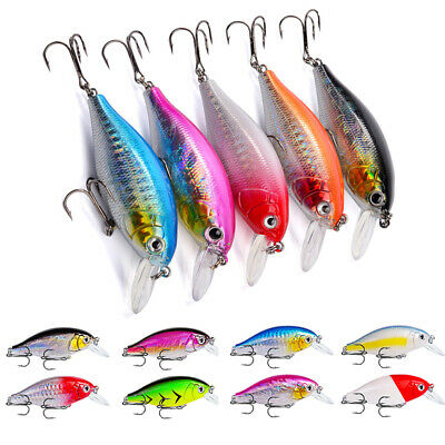 Fishing Lures Crank Bait Crankbait Tackle Wobblers Crank Bait Hooks Bass Tackle