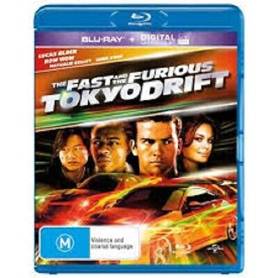 The Fast And The Furious - Tokyo Drift (Blu-ray, 2019)