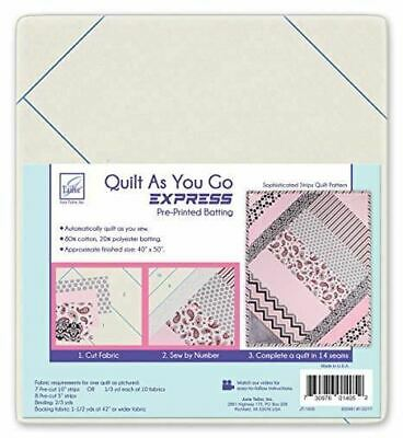 Quilt As You Go 80/20 Cotton - Sophisticated Strips