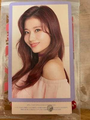 TWICE SANA 2nd Album #TWICE2 Japan Official Hi Touch Photo Card punched