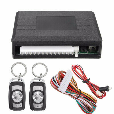 Universal Car Door Locking Keyless Entry System Remote Control Central Kit Y9S5