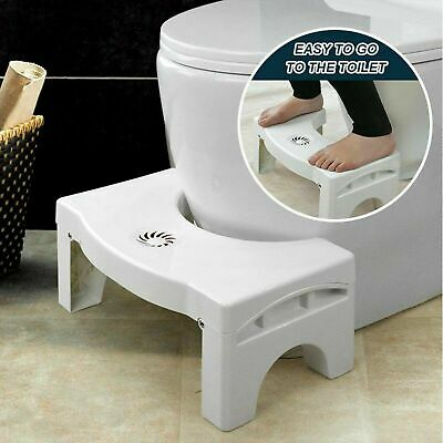 Hot Sit And Squat Squatty Potty Eco Toilet Stool Healthy Colon White