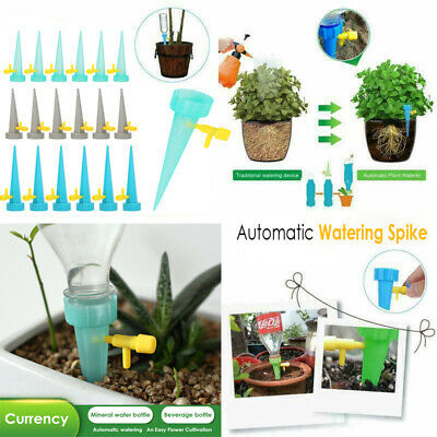 Automatic Watering Spikes System Home Garden Plant Bottle Drip Irrigation Tool