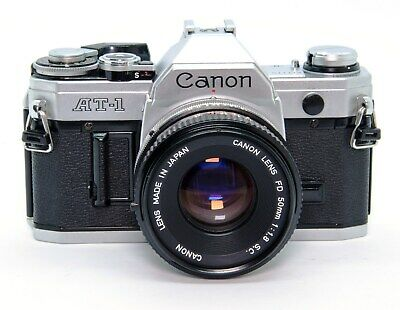 Canon AT-1 + Canon Lens FD 50mm 1:1.8 S.C.