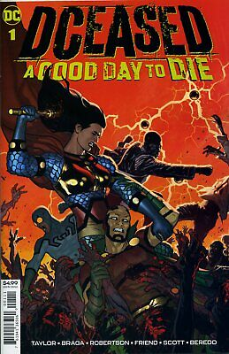 Dceased A Good Day To Die #1 - Dc Comics - Usa - L053 - Preorder 04.09.2019