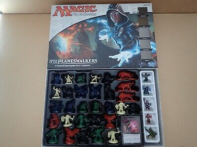 Magic the gathering arena of the planeswalkers board game lots of figures