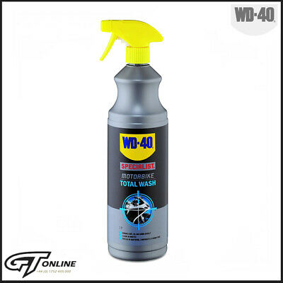 WD-40 Specialist Motorbike Total Wash Motorcycle Bike Cleaner | 1Ltr |  WD44174