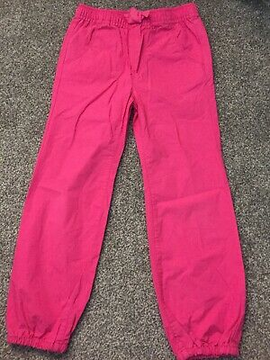 Baby Gap Pink Cotton Casual  Elasticated Ankle And Waist Trousers Age 5