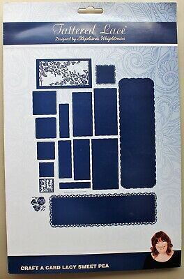 Tattered Lace Craft A Card Collection Lacy Sweet Pea