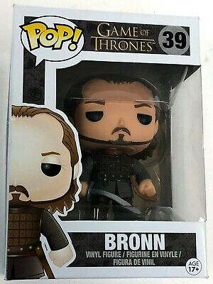 Rare Vaulted Sir Bronn Blackwater Game of Thrones GoT Funko Pop Figure w Protect