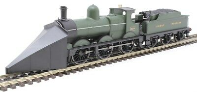 Oxford Rail OR76DG005 OO GWR deans goods 2534 great western green + Snow plough