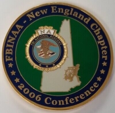 FBI National Academy FBINAA New England Chapter 2006 Conference New Hampshire