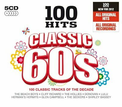 Various Artists - 100 Hits Classic 60s - Various Artists CD D2VG The Cheap Fast