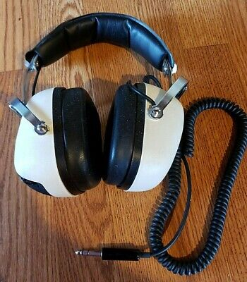 VIintage Sansui SS-20 Classic Stereo Headphones Dual Volume & Tone Control Ω