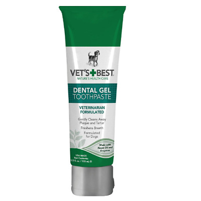 Vet's Best Enzymatic Dog Toothpaste Dental Care Gel Clean and Fresh Breath #720
