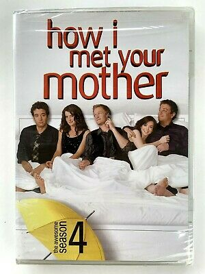 How I Met Your Mother Season 4 New Sealed DVD Set 2009 20th Century Fox