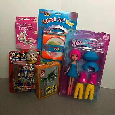 Job Lot Of 50 Brand New Toys Mixed Toys Ideal For Car Boots Party Bags Tombolas