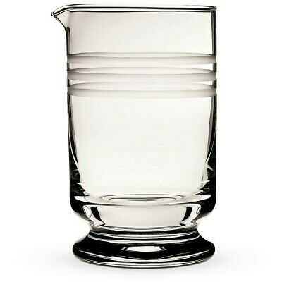 Urban Bar Calabrese Footed Mixing Glass with 3 Cuts - 600ml