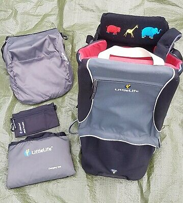 LittleLife Cross Country Baby Carriers/Backpacks+sun protection+changing mat+pi