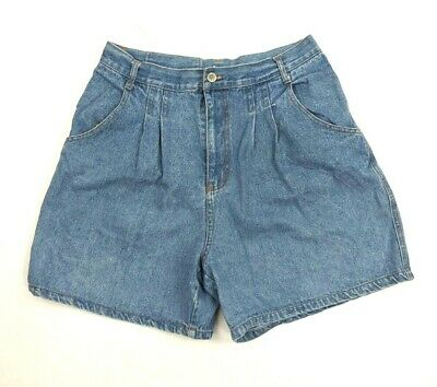 Vintage 80s 90s PS Gitano Super High Rise Mom Shorts Size 14 Pleated