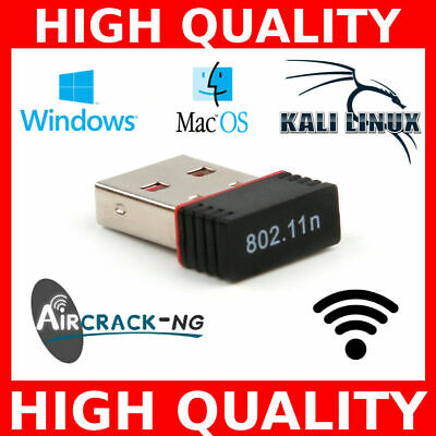 USB WIFI Hack Hacking Adapter Wireless Monitor Injection For Kali Linux, Windows
