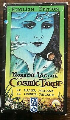 TAROT CARDS DECK Vintage Colorful Box Future Telling Game 78