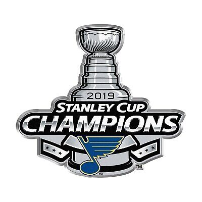 St Louis Blues 2019 Stanley Cup Champions NHL Hockey Collectors Lapel Pin Button