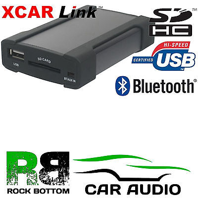 TO FIT LEXUS GS300 2004-11 Car Radio AUX IN iPhone & Bluetooth