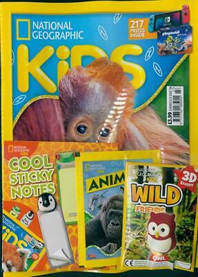 National Geographic Kids Magazine Summer 2019 ~ ~  New With Gifts ~ ~
