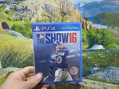 The MLB Show 16 2016 Sony Playstation 4 PS4